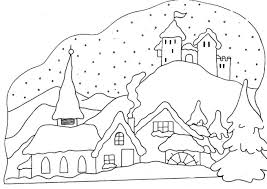 winter coloring pages printable free snowman kid coloring pages