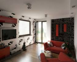 modern family room design rustic roof design white fabric
