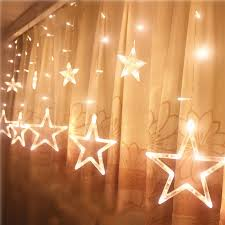 Window Display Christmas Decorations Uk by Twinkling Stars Christmas Fairy String Lights Window Display Led