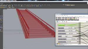 Stair Definition Grasshopper For Rhino 3d