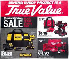 true value black friday 2017 ad dewalt tools grills