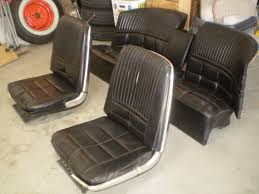 T Bucket Upholstery T Bird Bucket Seats With Wrap Around Rear Seat The H A M B
