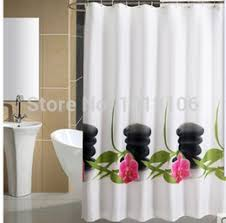 Orchid Shower Curtain Discount Stone Shower Curtain 2017 Stone Shower Curtain On Sale