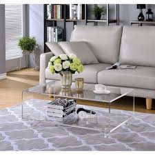 clear acrylic coffee table furniture clear coffee table new coaster coffee table in chrome