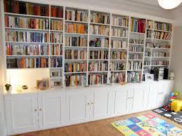 teak veneer bookcase full wall bookshelves build plans wall