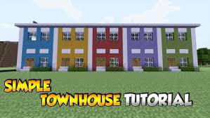 minecraft simple townhouse tutorial xbox ps3 ps4 pc youtube