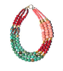 coral necklace images Willa ford designs tuquoise coral necklace jpg