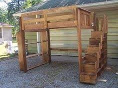 Fascinating Pallet Bunk Beds 17 Pallet Loft Beds How To Build by Diy Kids Bunk Bed Free Plans Bunk Bed Lofts And Camping