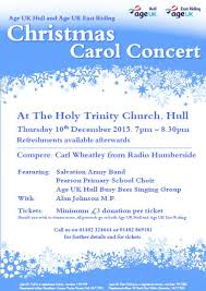 age uk hull and age uk east riding carol concert u2014 hull minster