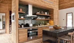 kitchen black tiled backsplash nice island nice the modern