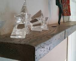Barn Wood Floating Shelves by Gray Floating Shelf Etsy