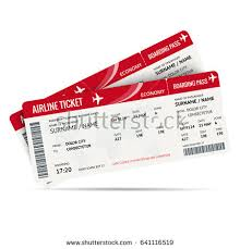 Flight ticket stock images royalty free images vectors