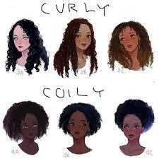 Hair Types by Haruhi1989 Hair Types Drawings Hair Type