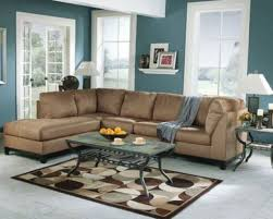 which paint color goes with brown furniture living room paint