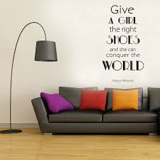 popular marilyn monroe wall quotes buy cheap marilyn monroe wall q022 marilyn monroe wall decal stickers decor quote shoe word easy removable sticker free shipping