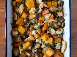 roasted vegetables with fresh herbs recipe rubel