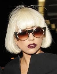 platinum blonde bob hairstyles pictures gaga s platinum blonde short bob hairstyle