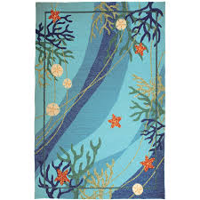 Kids Area Rugs Decorating Lovely Charming Starfish Rug Learning Block Nature