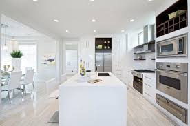 cool white minimalist floor motif with white off sofas on the