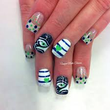 seahawks nails favs pinterest seahawks nails seahawks and