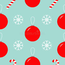 flat christmas wrapping paper christmas snowflake candy seamless pattern decoration