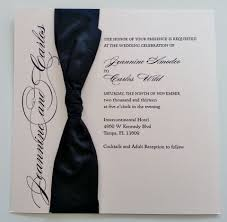 How To Make Invitation Card For Wedding Wedding Invitations With Ribbon Plumegiant Com