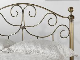 brass bed frame frame decorations