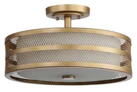 Home Design Gold Ceiling Square Flush Mount Crystal Chandelier Home Design Ideas