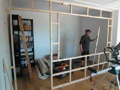 Small Room Divider Small Space Living An Unique Simple Design Build Up Wall Which