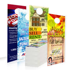 door hangers 5000 for 179 free shipping printed on card stock