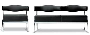 Designer Leather Armchair Momo Modular Italian Reception Area Sofas Seats And Tables From
