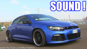 volkswagen scirocco r 2012 vw scirocco r lovely sound start rev accelerations youtube