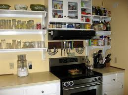 simple kitchen racks interior design