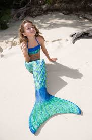 aussie green mermaid tail for kids u0026 adults by fin fun