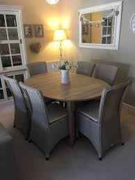 neptune solid oak sheldrake oval extending dining table and chairs