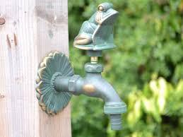 frog ornamental garden tap access garden products
