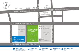 Taipei Mrt Map 六福萬怡酒店 Transportation Guide