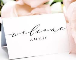 name place card template printable name cards instant download