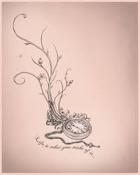 time heals all wounds u003e maybe going from dead flowers and stems to