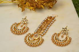 buy earrings online buy passa earrings set gold online