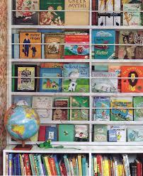 Display Bookcase For Children Bookshelf Cool Cribs