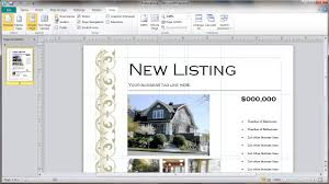 real estate flyer template selection youtube