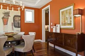 Modern Mirrors For Dining Room by Hawaii Burnt Orange Wall Dining Room Contemporary With Modern