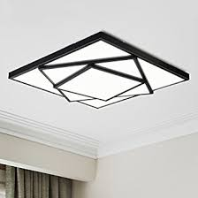 Modern Ceiling Light Fixture by Electro Bp Modern Simple Metal Art Ceiling Light Geometric Led