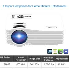 screen size for home theater aliexpress com buy uc36 1000 lumens portable led projector full