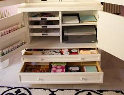 Craft Storage Cabinet How To Create An Organized Craft Room Design Improvised