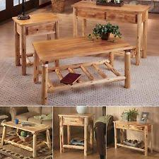 Rustic Coffee And End Tables Rustic End Tables Ebay