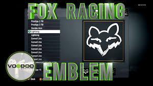 fox motocross logo fox racing emblem logo call of duty black ops emblem editor