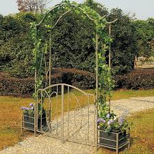 wedding arches outdoor yong american outdoor courtyard with wrought iron arches climbing