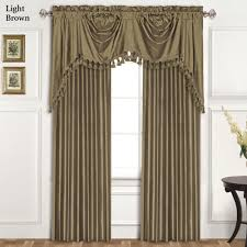 dupioni silk austrian window treatment